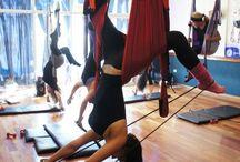 Aeroyoga formación de Profesores / Fotos de la formación de profesores de Aeroyoga