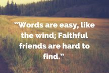 Friendship Quotes / Quotes about friendship