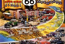 """On The Road Again: Route 66 """"The Mother Road"""" / by Crystal Cope"""