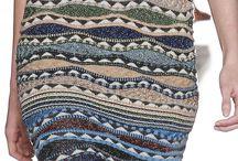 Abiti maglia e uncinetto