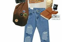 oufits 70' 80' 90's