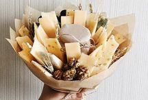 букеты и композиции из еды