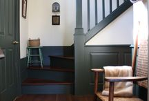 staircase and skirting
