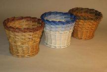 cesteria con periodicos / artesanias creadas con papel periodico