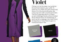 Color Homework - Violet