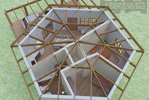 casas hexagonales