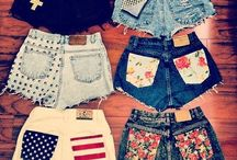 Fashion shorts.