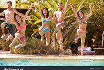 Pool Group Photo