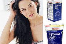 Epsom salt / by Tina Johnson
