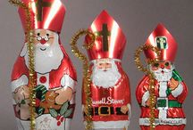 Chocolate Santas & Bunnies / Because what would be a holiday without chocolate?
