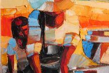 """peinture une grande artiste  à découvrir , """" Michèle Ribeiro """""""