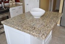 Granite colors for kitchen / by Sara Carter