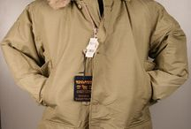 jackets and handbags