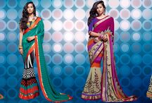 Fashion Sarees Online / Fashion Sarees For New & Stylish Look. Gives you ethnic look. https://www.inddus.com/sarees/partywear-sarees.html