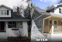 James Hardie's Before & After / Awesome home transformations with James Hardie siding!