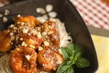 Korean Main Dishes:  Seafood