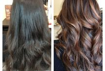 hair color brunette