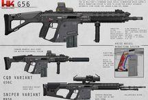 Guns / Guns - past, present, future