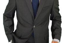 New  top   men's   suit     fashion
