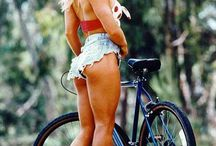 Bicycle & Woman