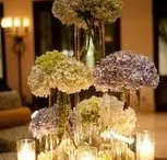 Hydrangeas and Candles / by The Wedding Zone