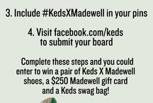 My Keds x Madewell Style / by Cara Smith Gawlik