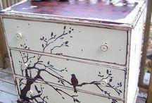 Déco meubles avec peinture