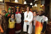 Fun at the Albany Pump Station / Staff enjoys the Halloween spirit.