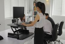 VARIDESK's in a modern office environment / The VARIDESK range of standing desks is ideally suited to a modern office environment. Change the way you work with a VARIDESK