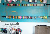 DIY craft storage