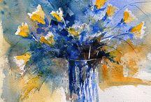 Colour inspiration / Watercolour