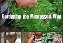 KIDS ☆  Gardening with Kids / Good ideas to get children involved in gardening