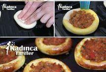 yemek / pasta / börek