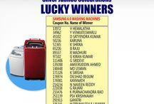Silver Jubilee Celebrations Lucky Winners list...