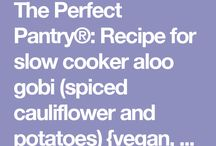 Slow cooker vegetarian recipes