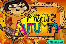 ✿ AUTUMN ~ Getting grubby in nature ✿ / GREEN GRUBS GARDEN CLUB ☼ Fresh air, bare feet + grubby hands = active learning