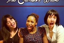 The Crimson Wave - a podcast / The Crimson Wave  Comedians Natalie Norman and Jess Beaulieu co-host The Crimson Wave, a feminist podcast that explores the glorious topic of PERIODS. They bring on weekly guests and share hilarious anecdotes, stories, and theories about their lovely aunt flow. Listen in and join in the beauty that is menstruation.  / by natalie norman