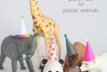 Wild Animal Birthday Party Ideas