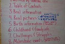 teaching biographies