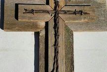 Barb Wire Decor