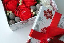 virág és csoki dobozok