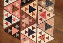Driehoek quilts
