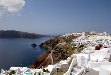 Oia, Santorini, Greece / Oia, Santorini, Greece