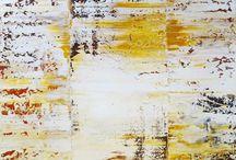 Acrylbilder als Rakelkunst auf Leinwand - Lonny Deppe / Zu sehen gibt es hier Acrylbilder aus meinem Atelier in verschiedenen Formen und Farben.