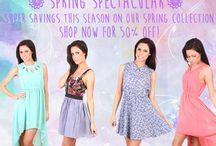 Spring Spectacular Blog / SPRING FASHION