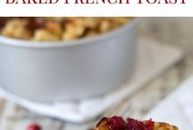 breakfast and brunch / Inspirations for breakfast and brunch meals and atmosphere