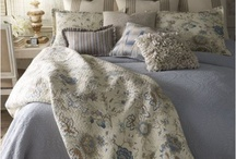 In The Boudoir / I love the look of a cozy bed!!