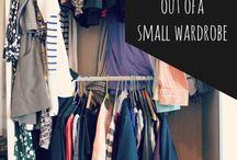 Closet tips.