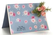 Easel Designs / Discover our pretty easel designs - gorgeous artist created cards adorned with delicate rose heads or pops of vibrant craspedia balls, a buttonhole sprig of fresh floral loveliness to send love and hugs.