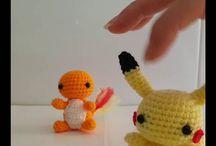 Pokemon a ganchillo